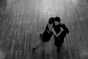 Lexa dancing Tango