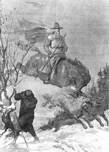 Odin's Hunt by August Malmström, pre 1901