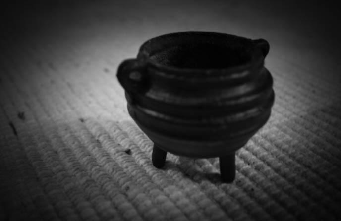 how to make black salt wicca