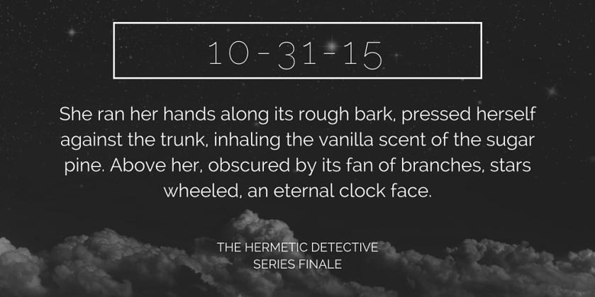 The Hermetic Detective, Kirsten Weiss