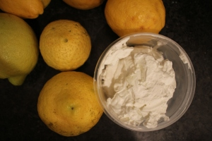 There is no reason for lemons in this picture, but they were on my counter.