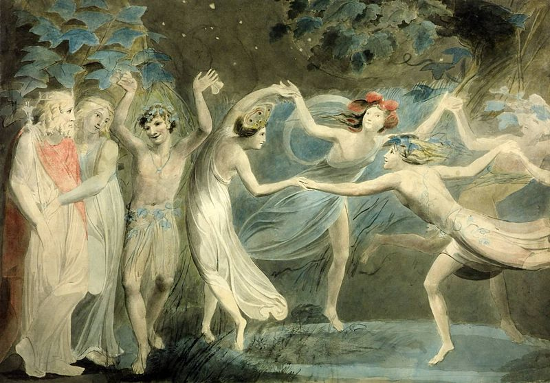 William Blake mystic poetry