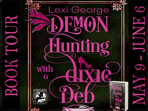 Demon Hunting with a Dixie Deb Button 300 x 225