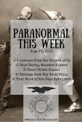 Paranormal This Week Aug 26 2016
